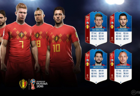 Bekendmaking WK-ratings België in FIFA 18