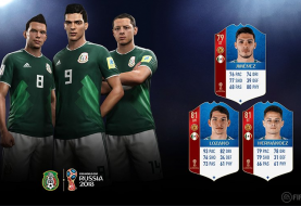 Bekendmaking WK-ratings Mexico in FIFA 18