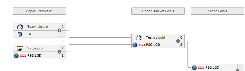 Epicenter Upper Bracket