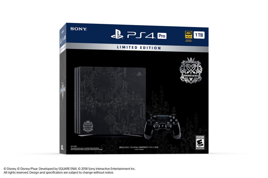 Limited Edition Kingdom Hearts III PS4 Pro onthuld