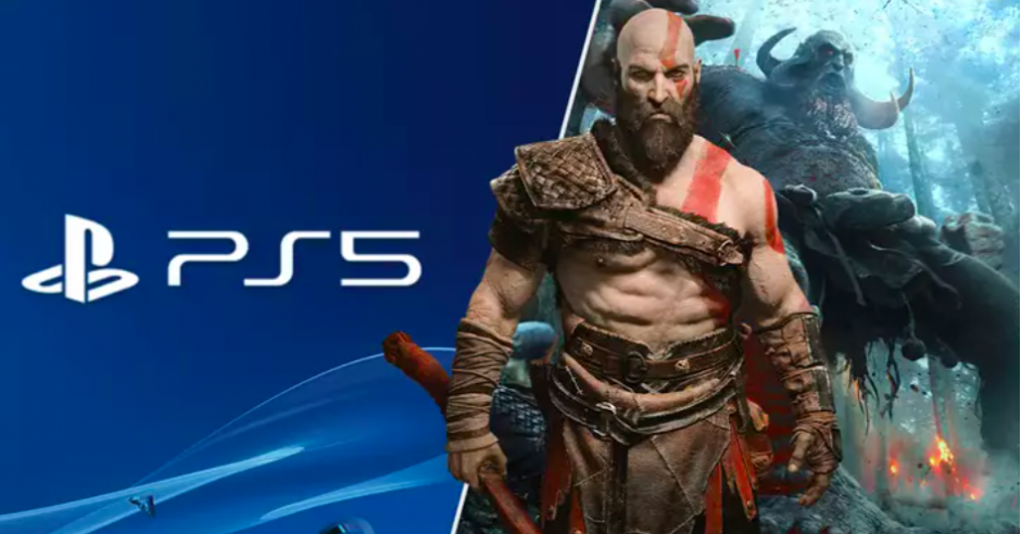 Fan maakt ultieme PlayStation 5-console die de natte droom is van elke God of War-fan