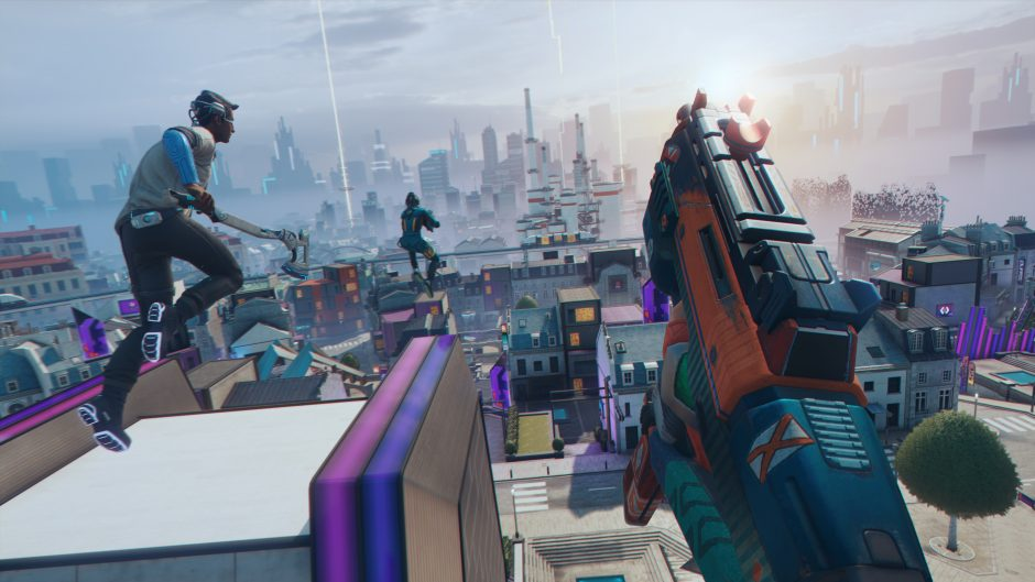 Ubisoft's free-to-play battle-royale Hyper Scape is nu in open beta