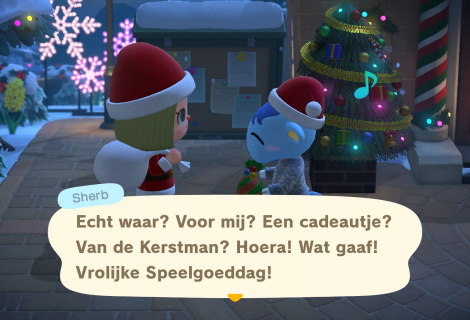 Vier de feestdagen en de winter in de nieuwe update van Animal Crossing: New Horizons - Trailer