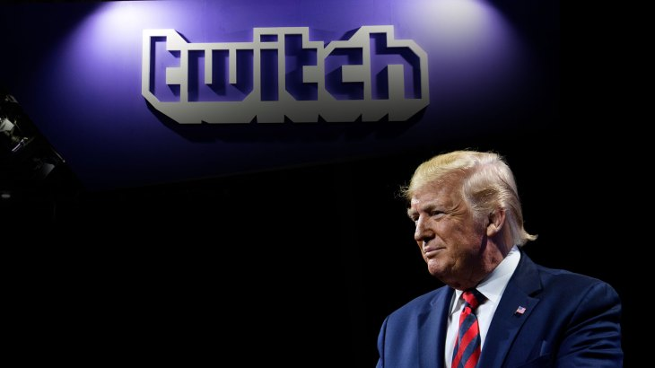Ex-president Donald Trump is ook permanent verbannen van Twitch