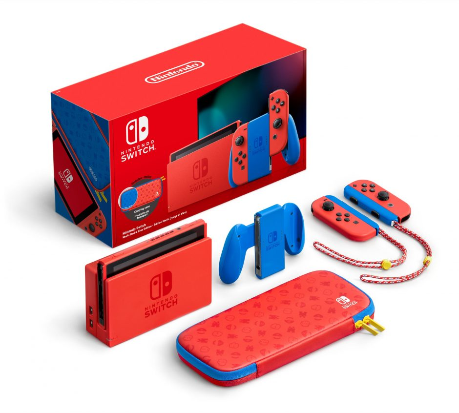 Limited Edition Nintendo Switch Mario Red & Blue aangekondigd