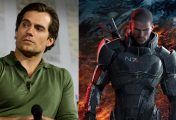 Acteur Henry Cavill teaset Mass Effect film of tv-serie